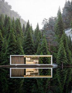 Как построить загородный дом на лесном участке?